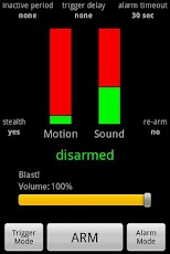 Motion and Sound Alarm