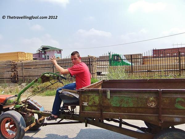 Kosovo Tractor