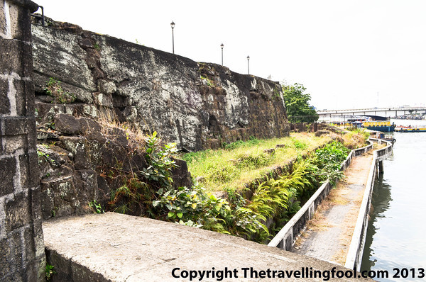 Fort Santiago on the Pasig River