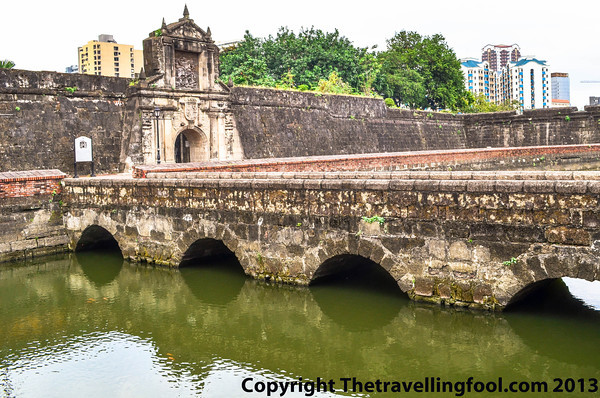 Moat and Entrance to Fort Santiago