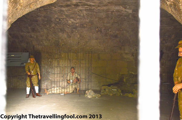 Fort Santiago prison cells