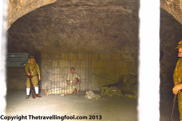 Fort Santiago prison cells