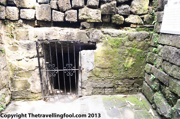 Dungeons at Fort Santiago