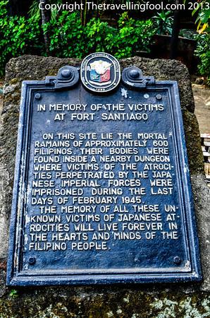 Plaque honoring WW2 victims