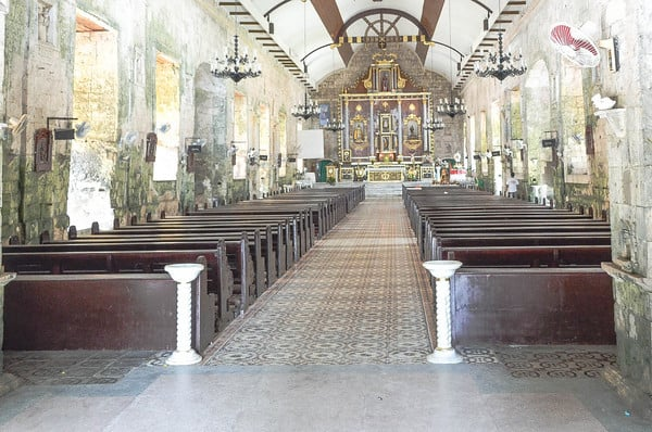 St Peter and Paul Church Bantayan island