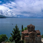 A view of Lake Ohrid