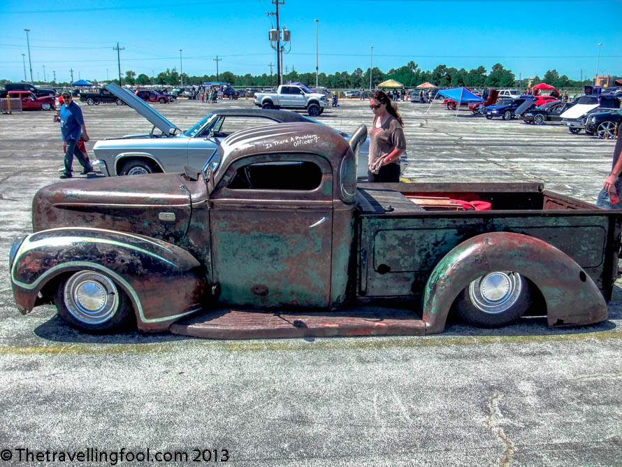 Rat Rod Custom Truck