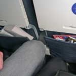 cramped airline seat