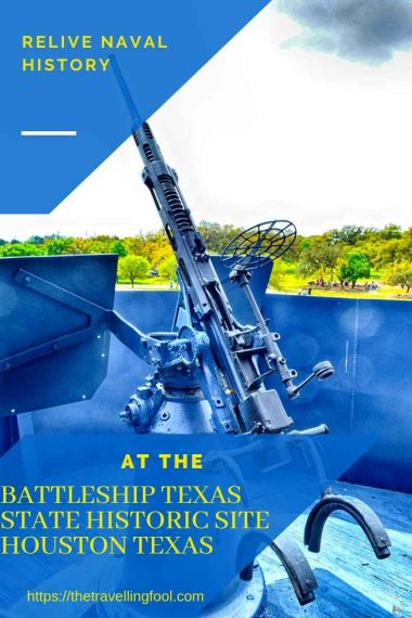 Battleship Texas state Historic Site Houston Texas