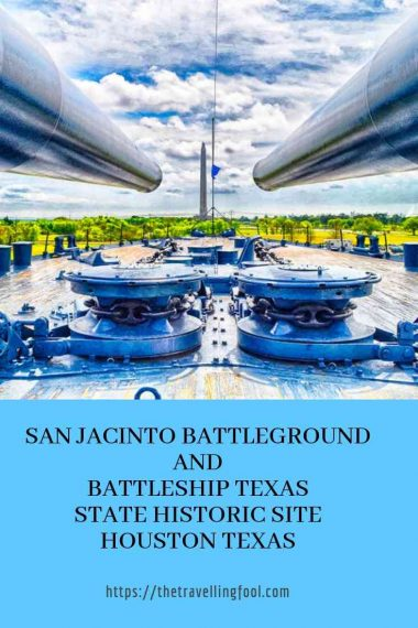 San Jacinto Battlegrouund and Battleship Texas State Historic Site Houston Texas