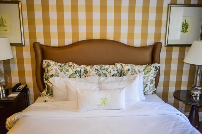 Raphael Hotel Suite Bedroom