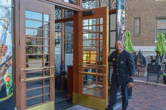 Raphael Hotel Front Entrance