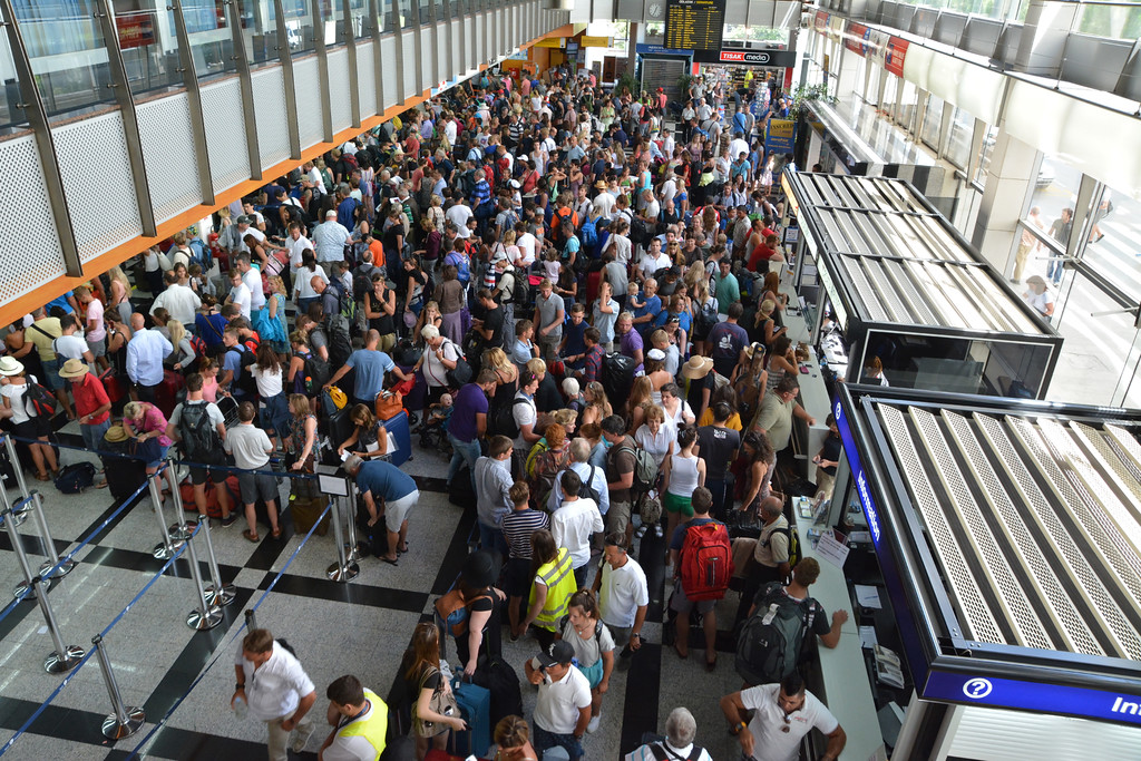 TSA Security Lines