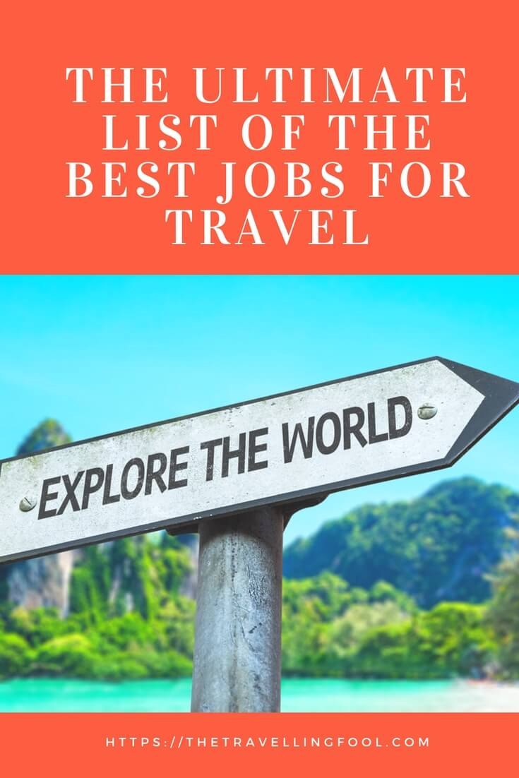 Tired of the same old travel jobs? Try these exiting careers