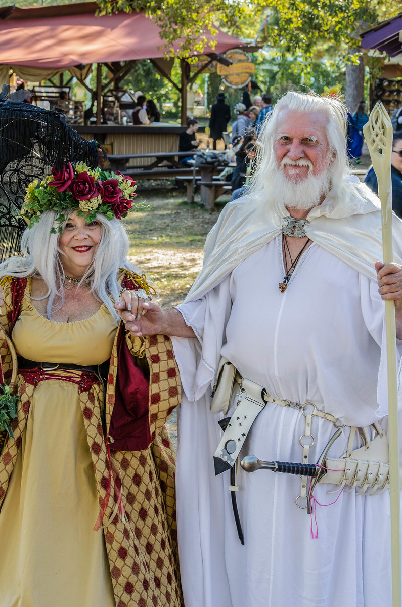 Renaissance Festival Visitors