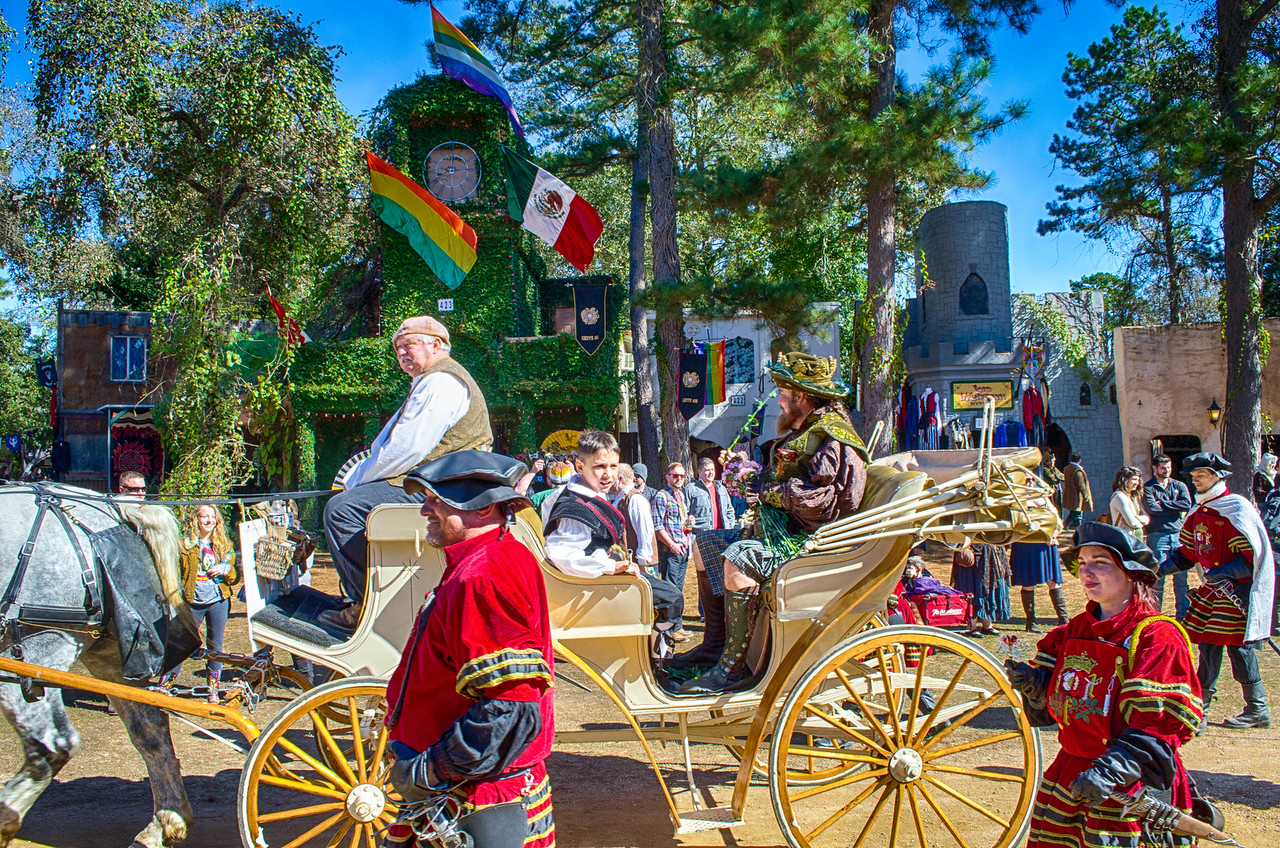 Renaissance Fair Parade