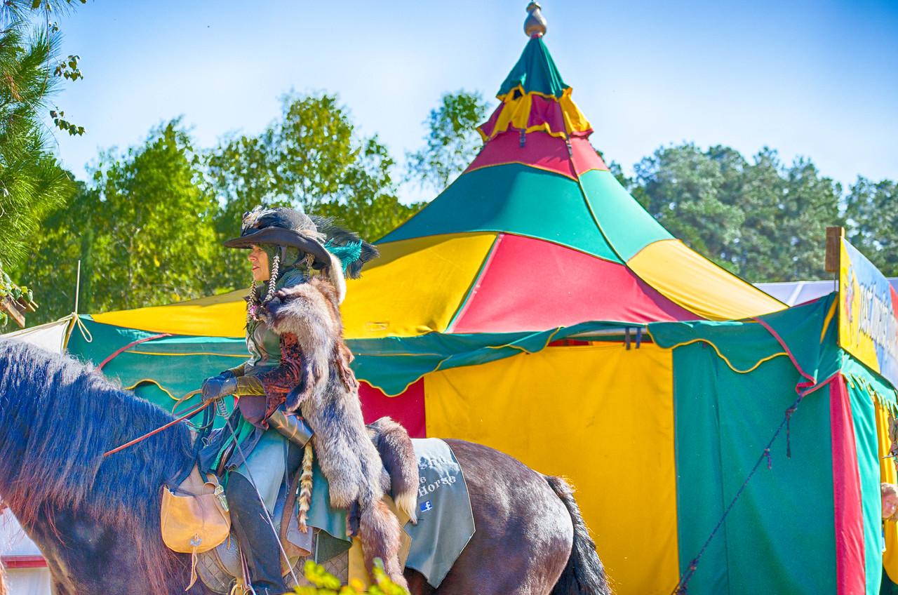 Renaissance Festival Performer
