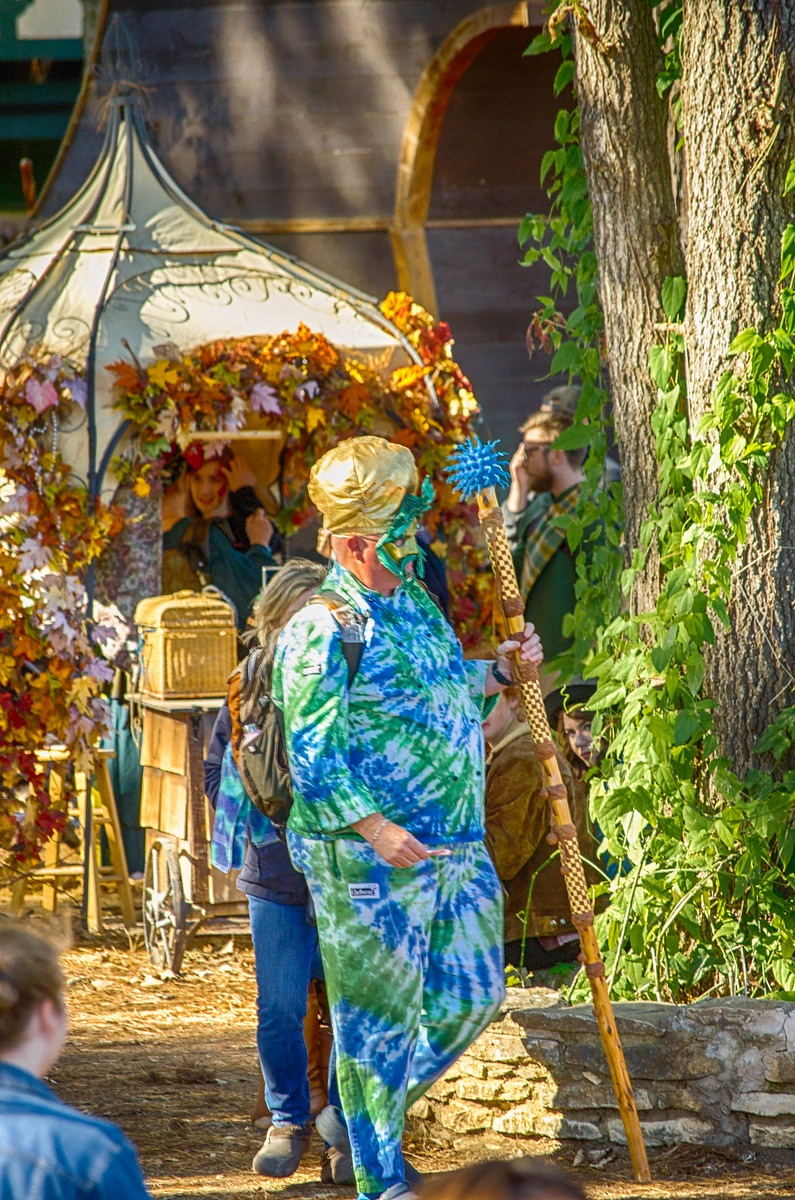 Renaissance Festival employee