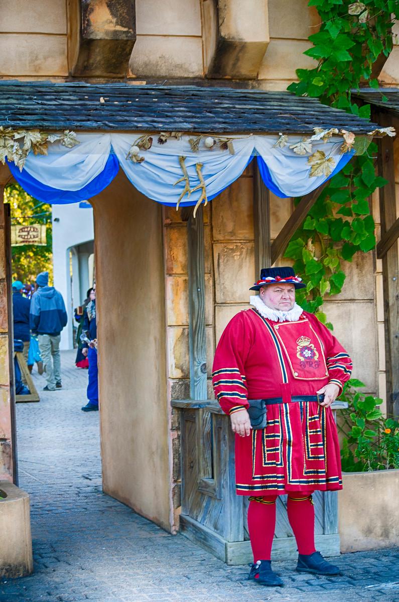 Renaissance Festival Entrance