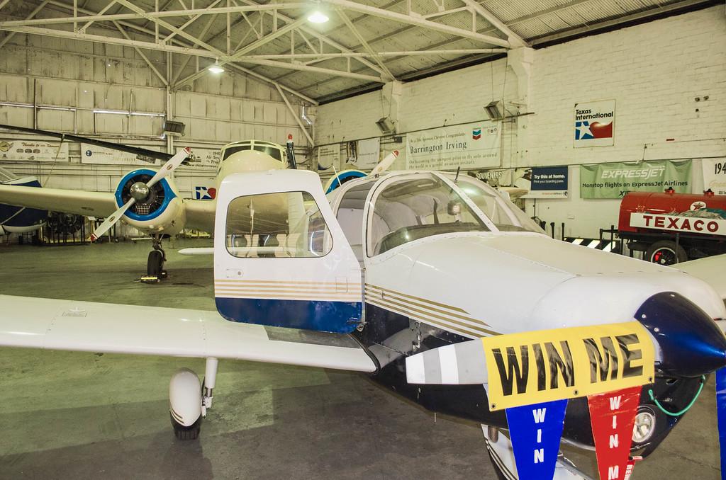 Raffle PLane Piper Cherokee 180 Air Terminal Museum