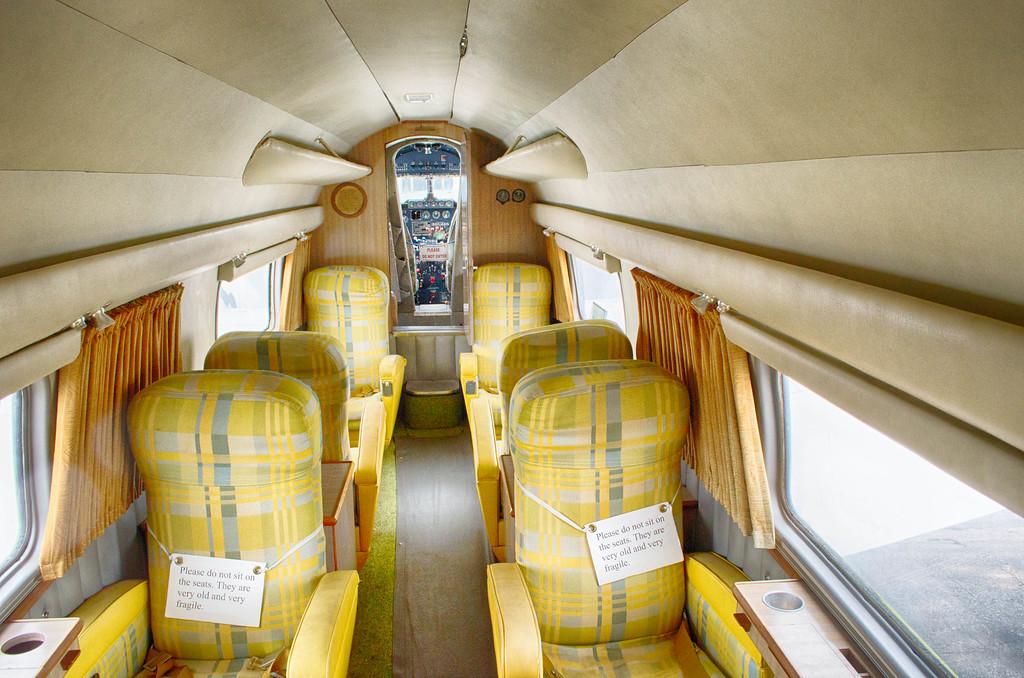 Interior Lockheed Lodestar Air Terminal Museum