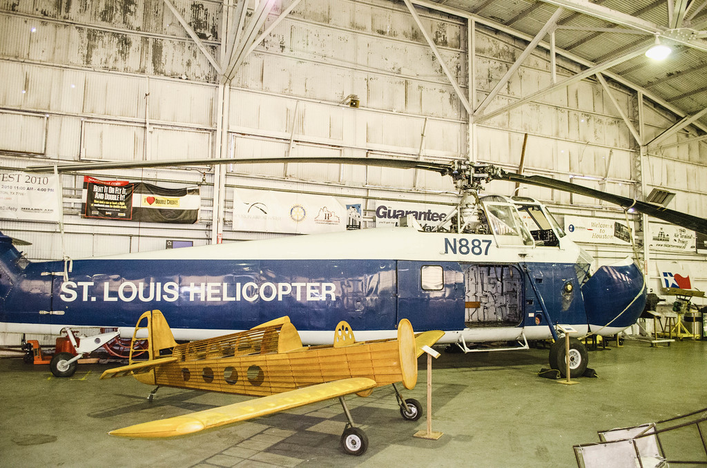 St Louis Helicopter Air Terminal Museum