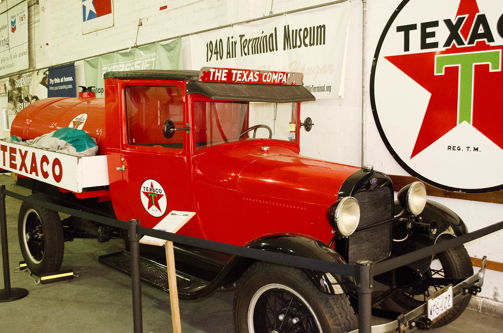 Texaco Fuel Truck Air Terminal Museum