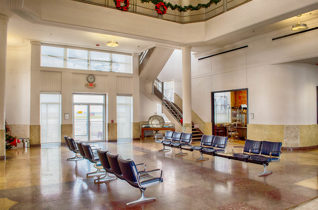 1940's Air Terminal Museum Lobby