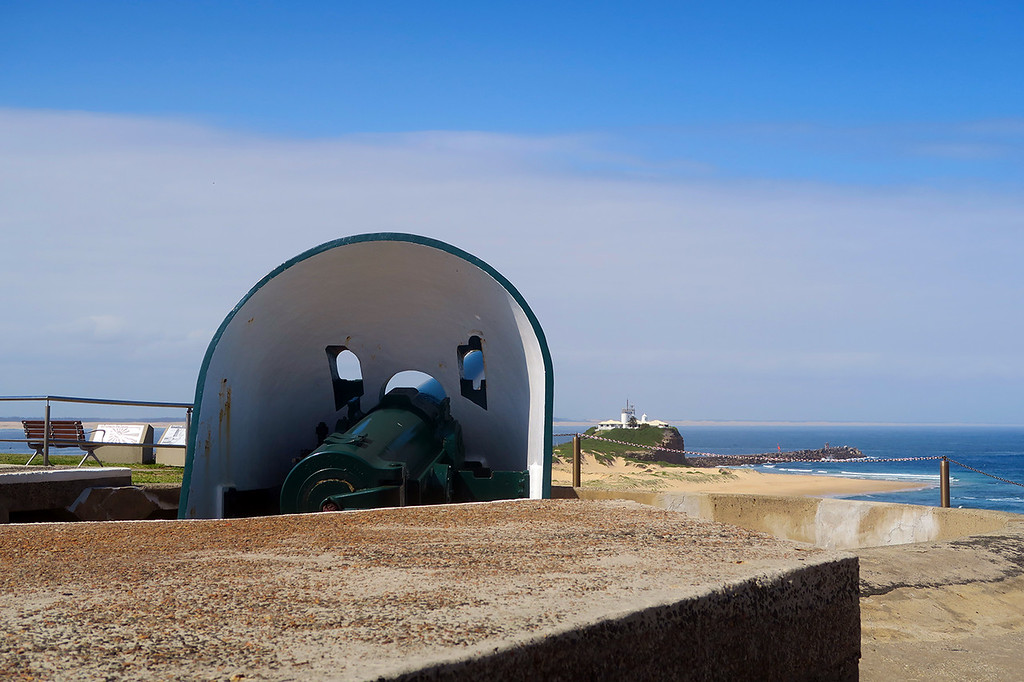 Naval Battery, Fort Scratchley, Newcastle, NSW, Australia