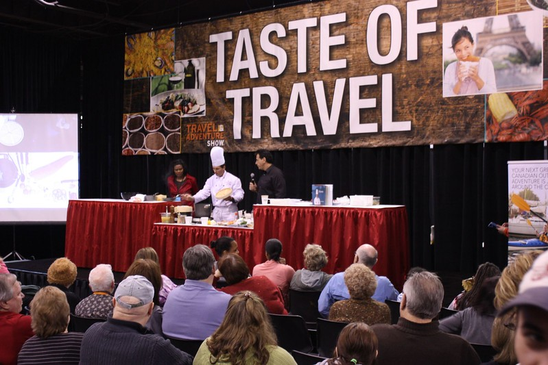 Culinary Travels Dallas Travel and Adventure Show
