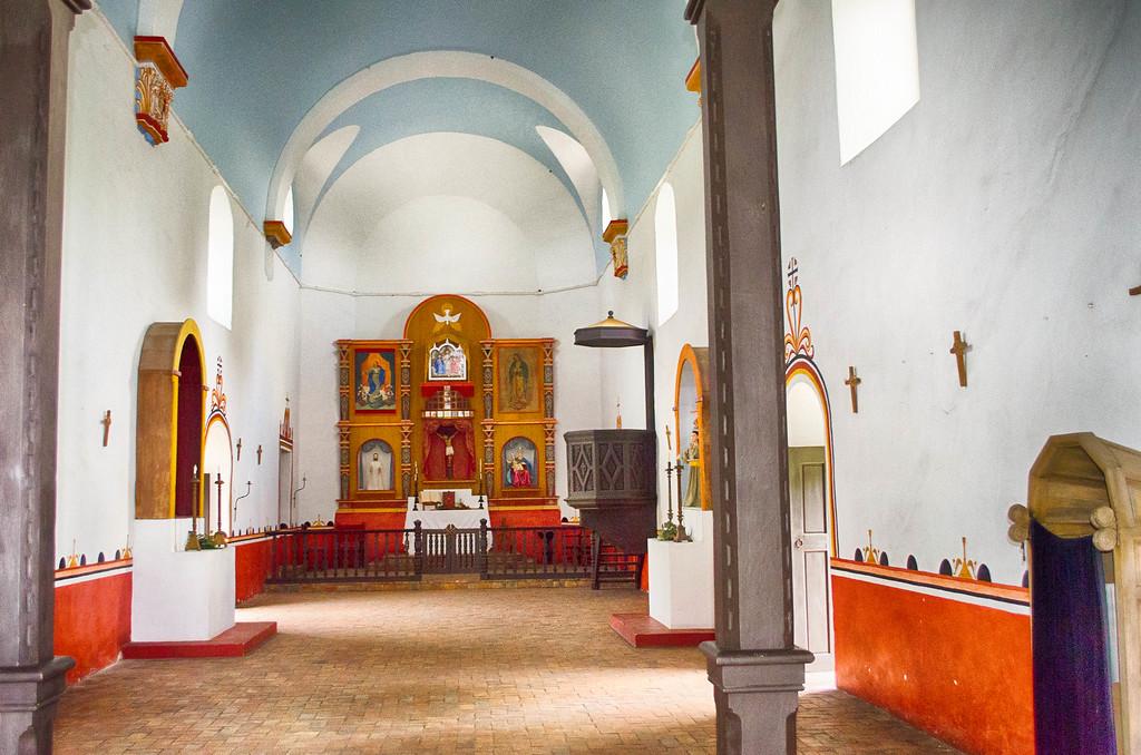 Chapel at Mission Espiritu Santo, Goliad Texas