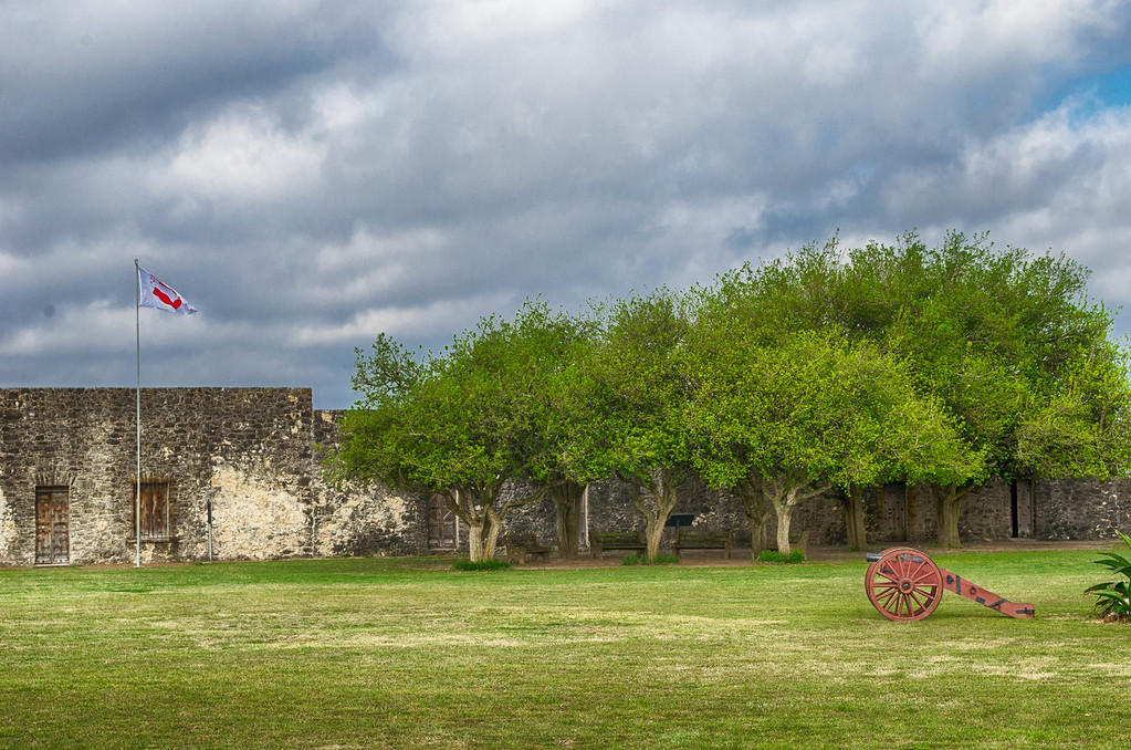 Courtyard Presidio La Bahia Goliad Texas