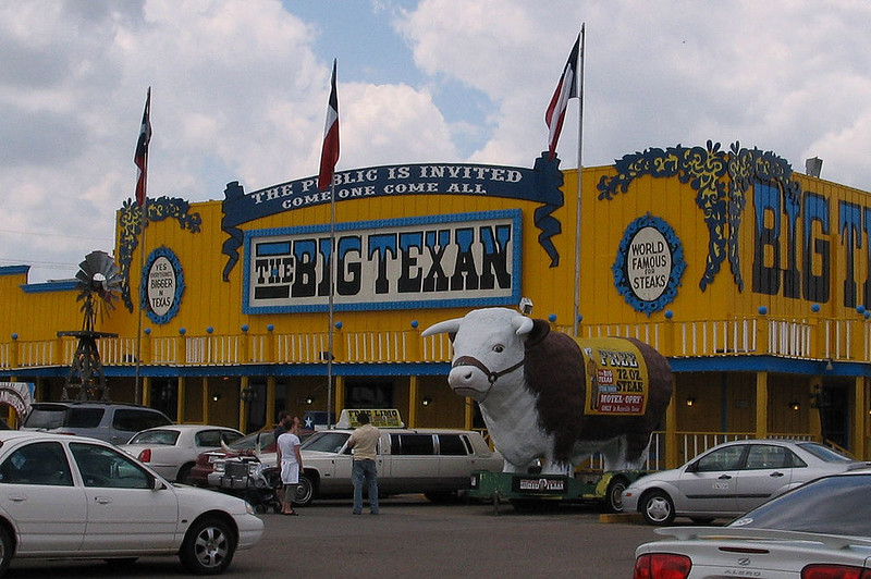 Big Texan Steak House Amarillo Texas