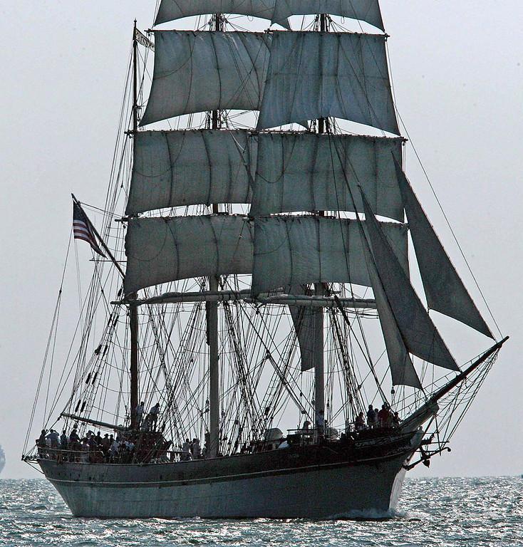 Tall Ship Elissa Galveston Texas