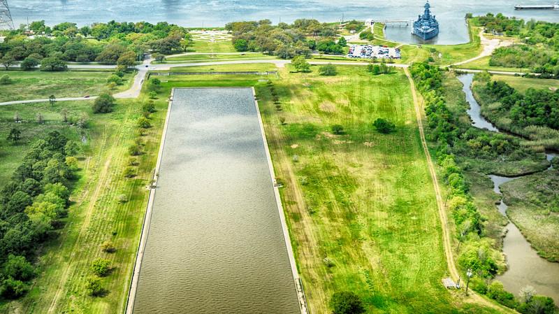 San Jacinto Battle Ground and Battleship Texas, San jacinto Texas