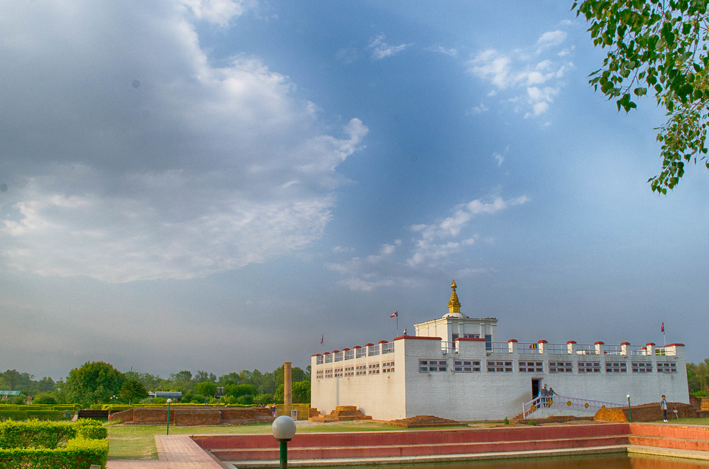Maya Devi Temple, Lumbini Nepal, birthplace of Buddha