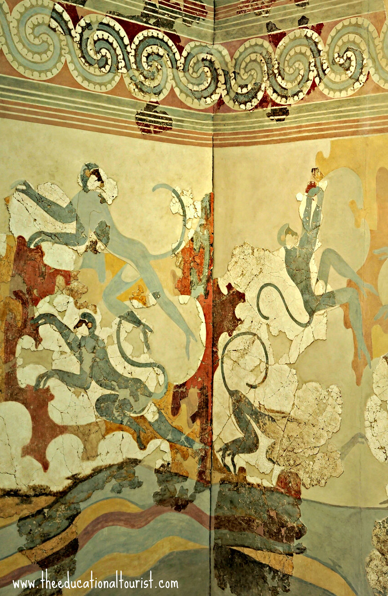 Akrotiri Greece fresco