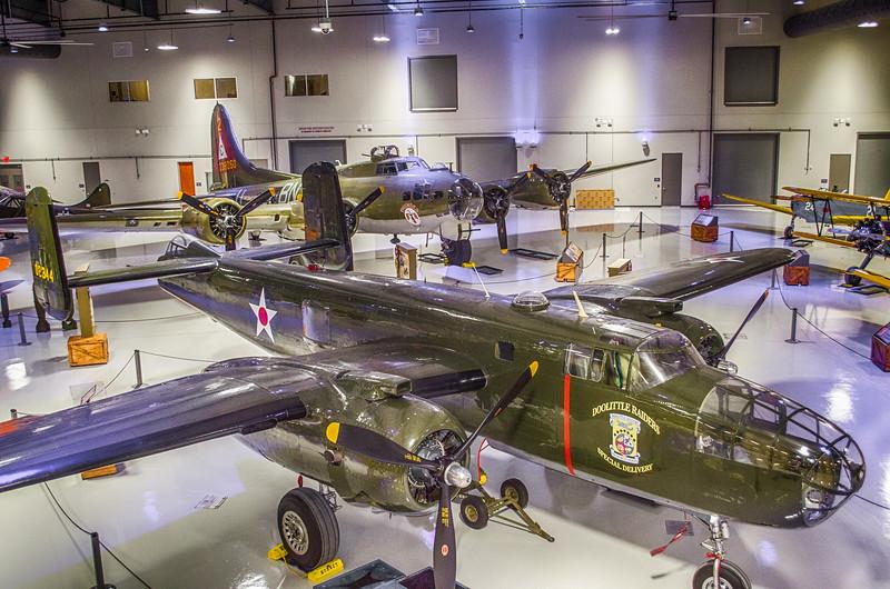 B-25 and B-17