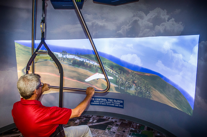 Interactive Hang Glider Display