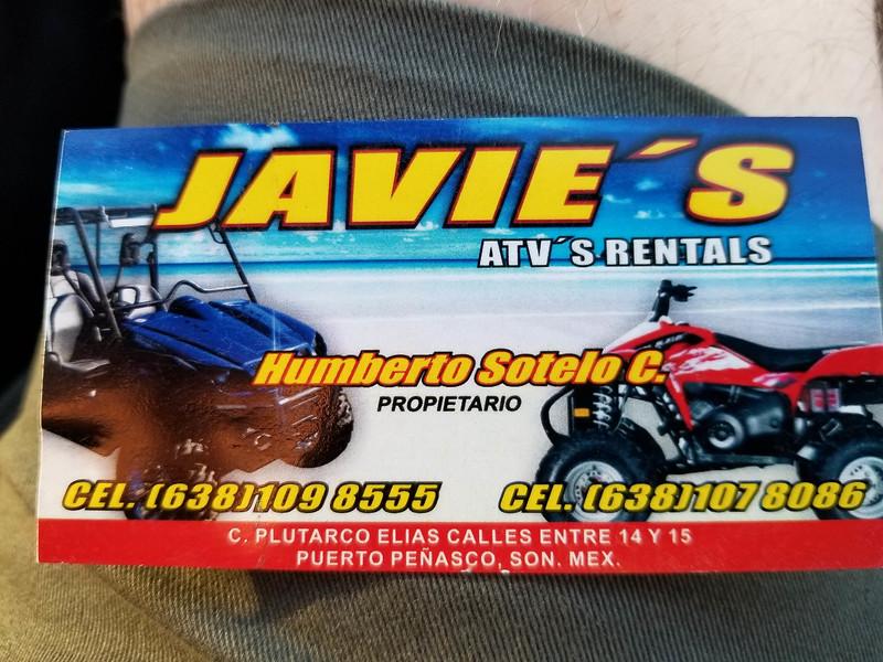 Javie's ATV Rentals