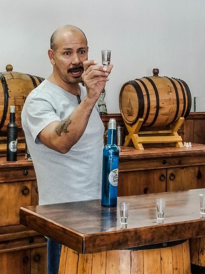 Manny Sanchez Tequila Factory