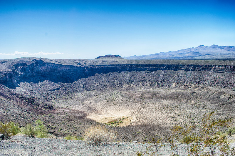 El Pinacate Volcanic Crater