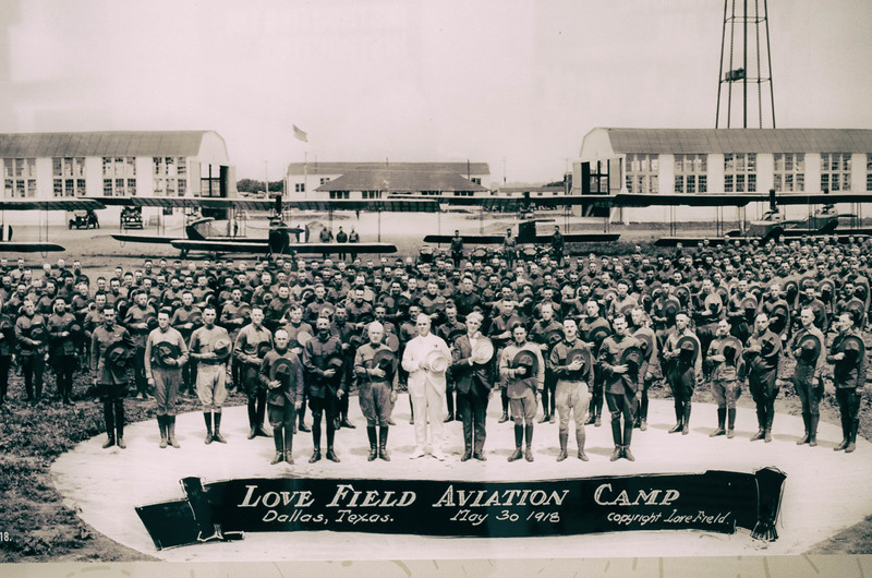 Love Field Aviation Camp 1918