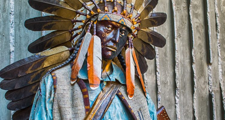 Bronze Statue, Indian, Native American, Arizona