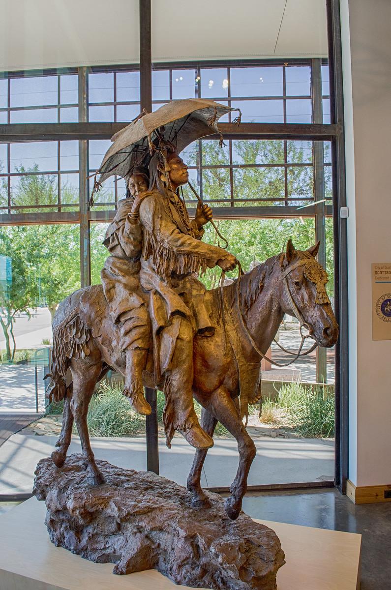 Bronze Statue, Western Spirit Scottsdales Museum of the West