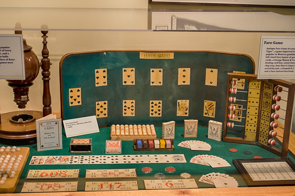 Faro Game, Old West, Museum of the West, Scottsdales Arizona