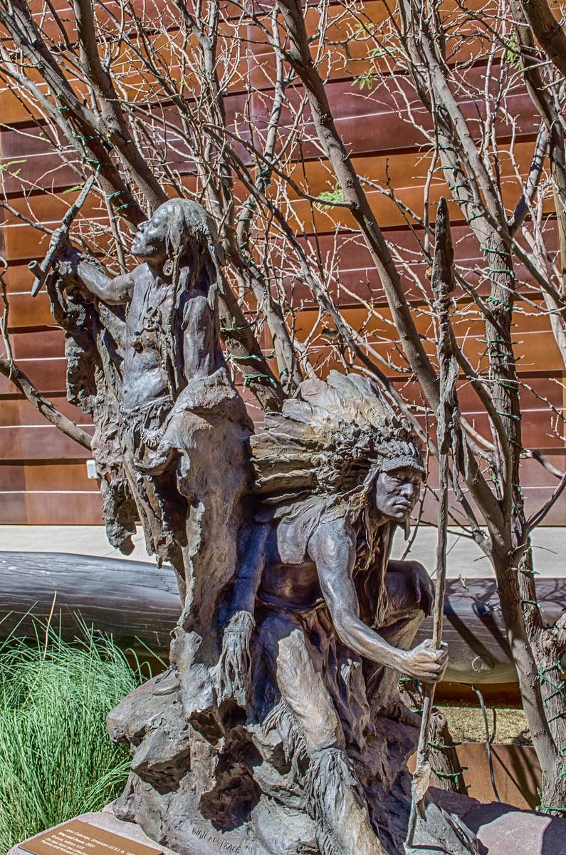 Bronze Statue, Museum of the West, Scottsdale Arizona