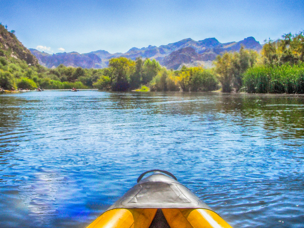 Salt River Arizona Kayaking