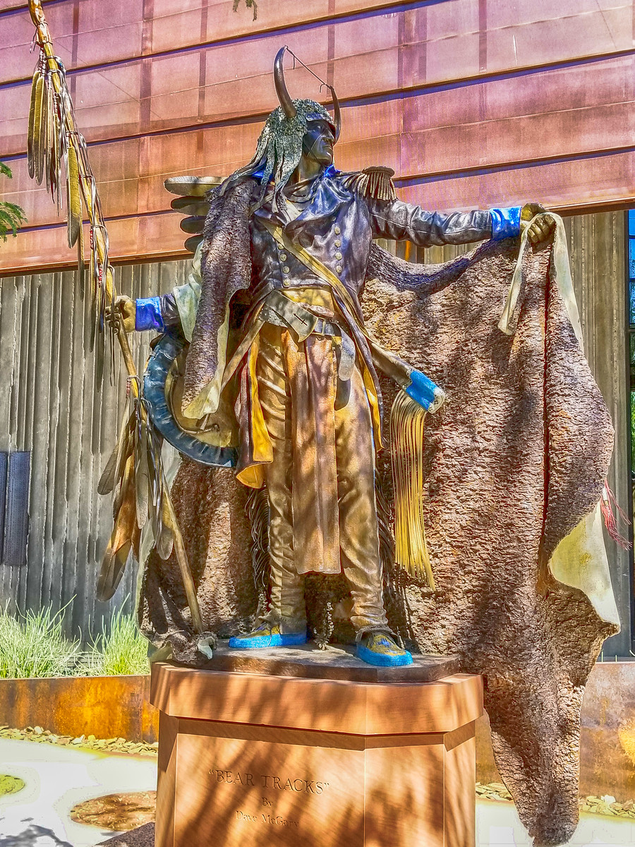 Bronze statue, Western Spirit Museum, Museum of the West, Old West, Scottsdale Arizona