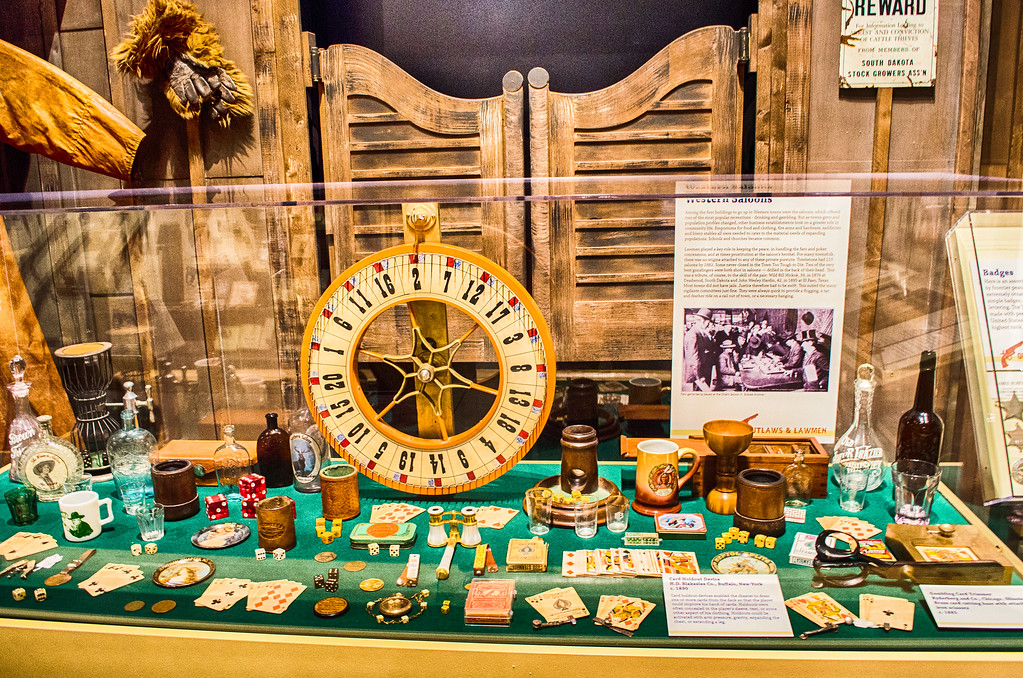 Old West Gambling, Museum of the West, Scottsdale Arizona
